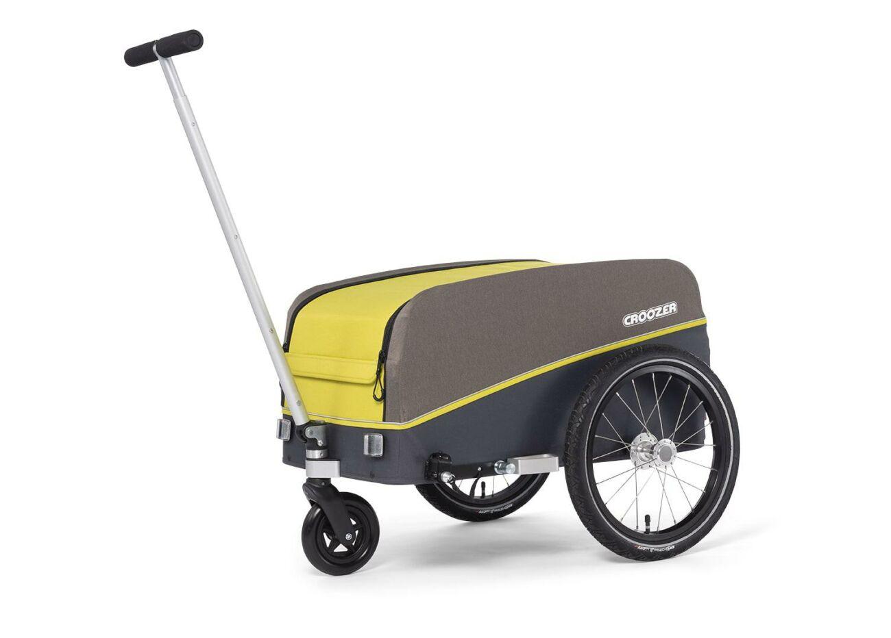 121008120 Croozer Cargo Kalle Bollerwagen 01 Lemon Green 2020 Web