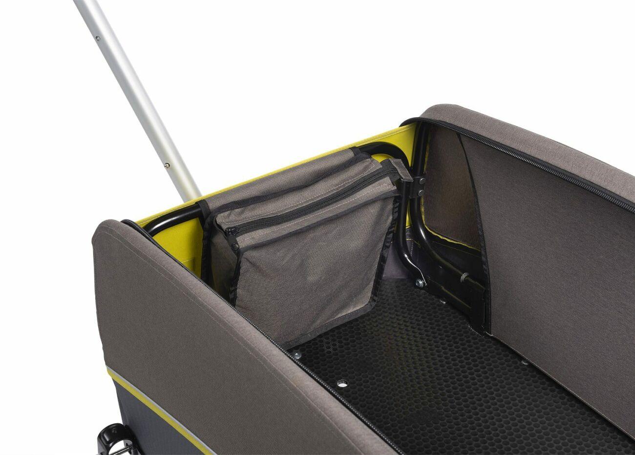 121008120 Croozer Cargo Kalle Bollerwagen 02 Lemon Green 2020 Web