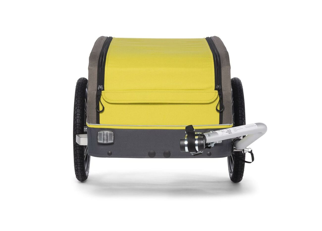 121008120 Croozer Cargo Kalle Front Lemon Green 2020 Web