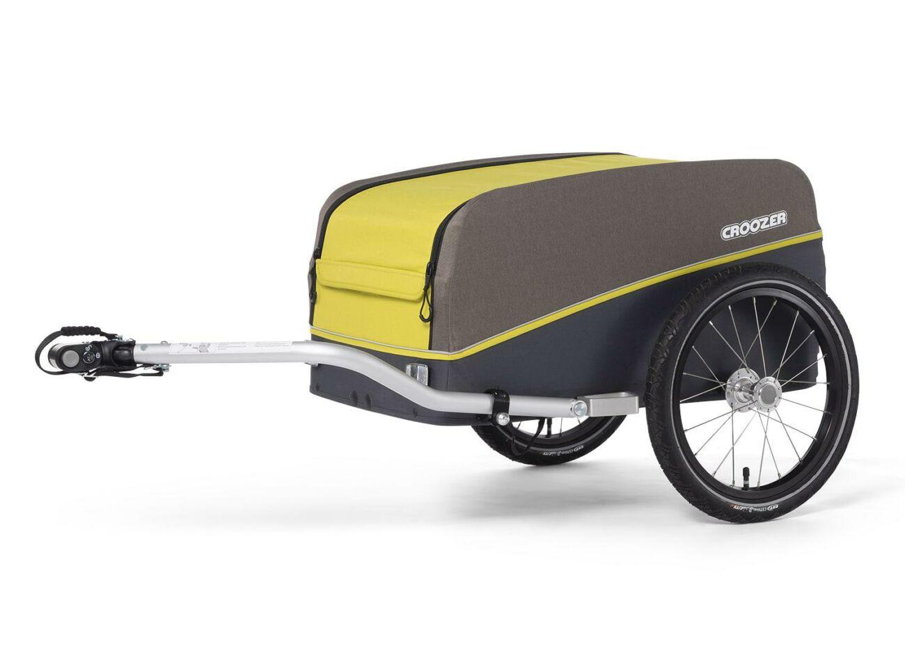 121008120 Croozer Cargo Kalle Lemon Green 2020 Web