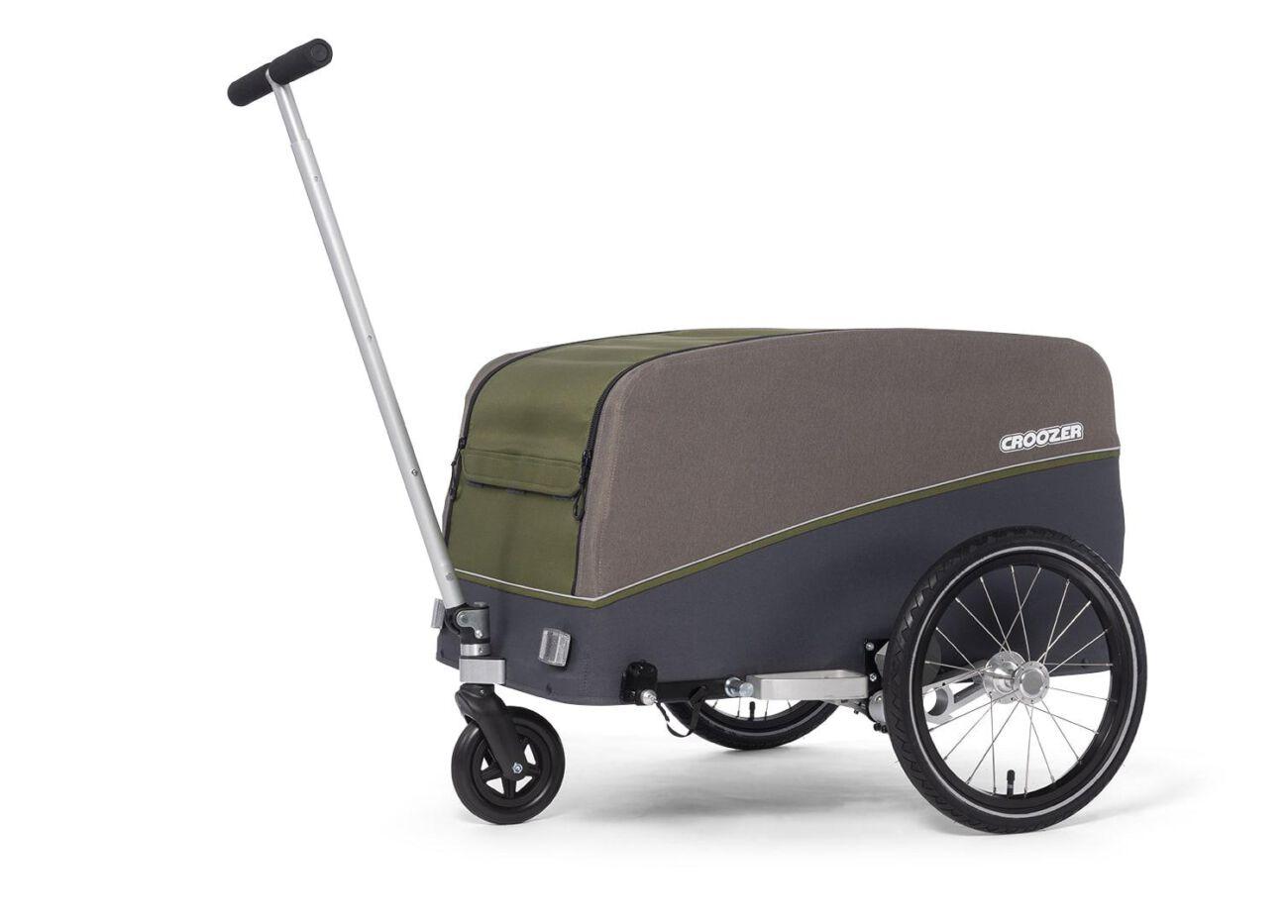 121008320 Croozer Cargo Tuure Bollerwagen 01 Olive Green 2020 Web