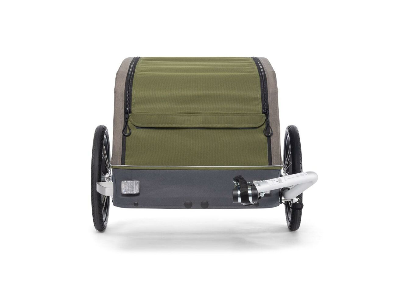 121008320 Croozer Cargo Tuure Front Olive Green 2020 Web