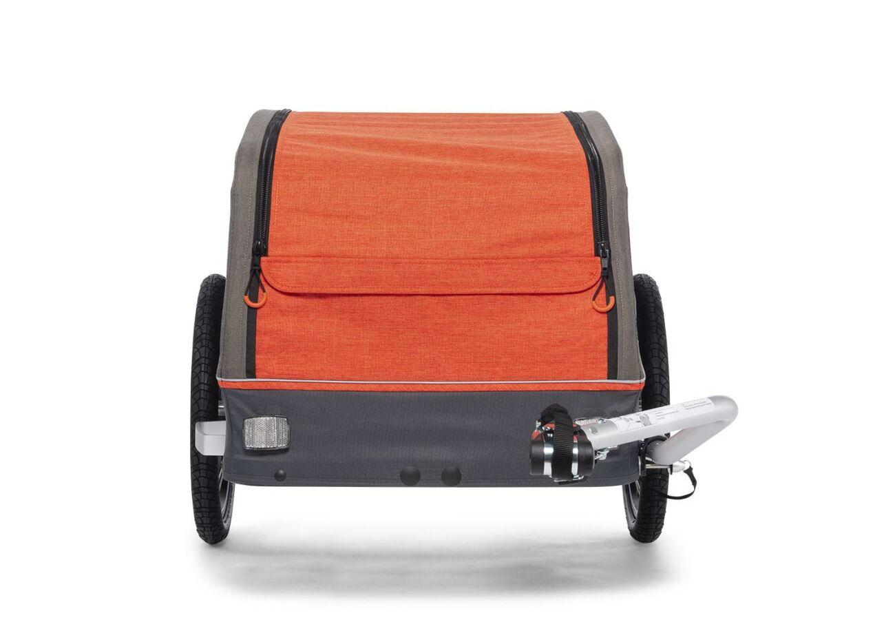 121000518 Croozer Cargo Pakko Front Campfire Red 2020 Web