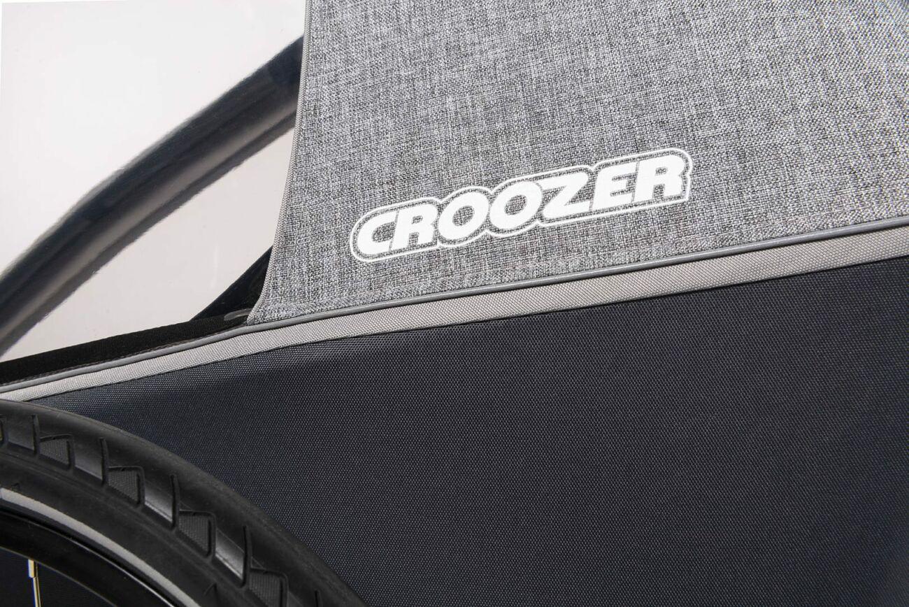 Croozer Kid Keeke Logo Stone Grey 2020 Web