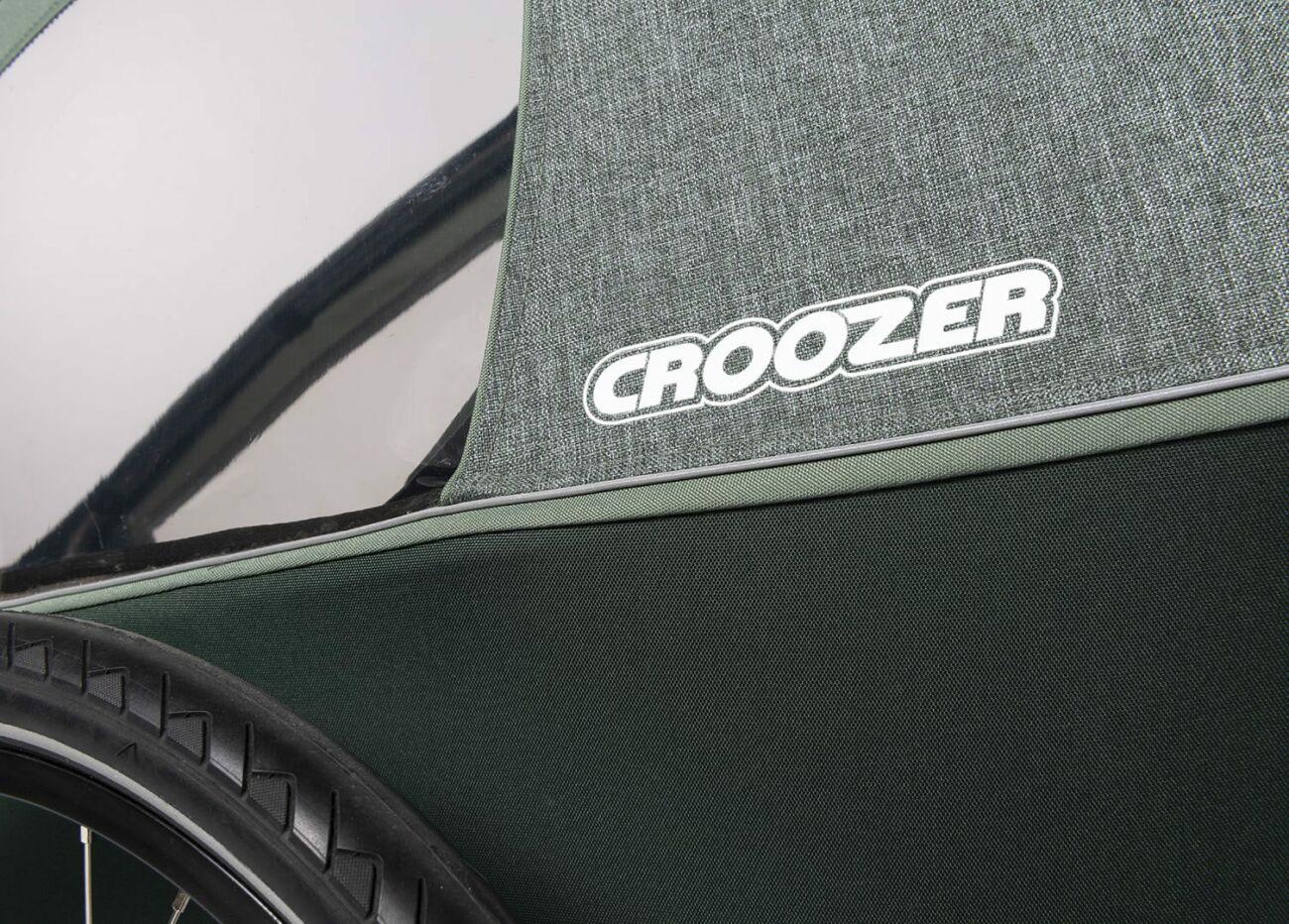 Croozer Kid Vaaya Logo Jungle Green 2020 Web